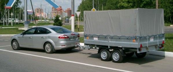 Авто с прицепом